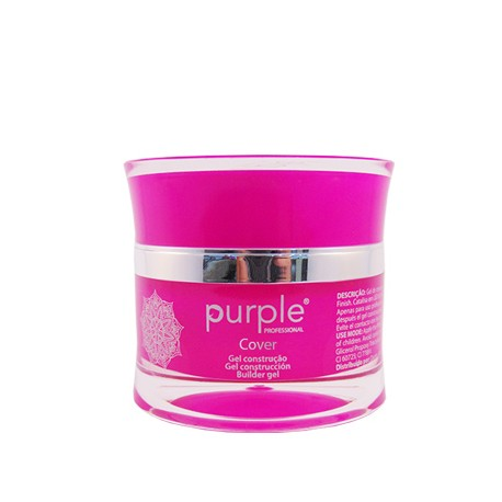 Gel Cover Dark Nude 15g - Purple