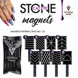 Placa Iman 8 padrões   - Victoria Vynn